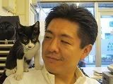 ウィルさいたま日記-肩乗り猫
